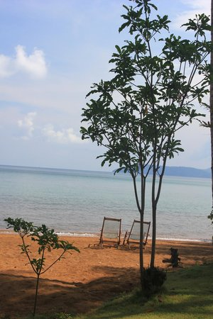 Little Moon Villa Resort: Beach