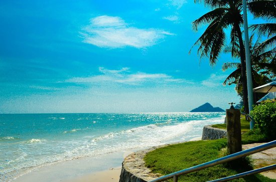 Hyatt Regency Hua Hin: Beach Area