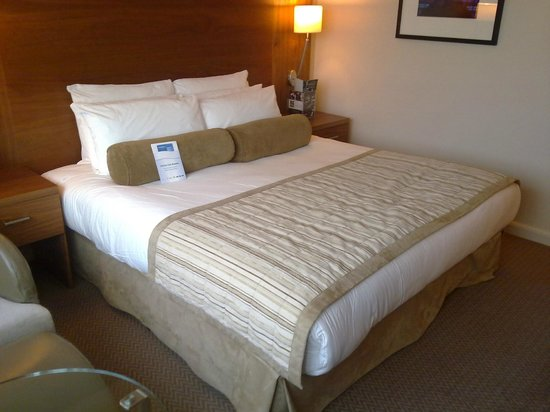 Crowne Plaza Manchester Airport: CP Manchester Airport - Double bed