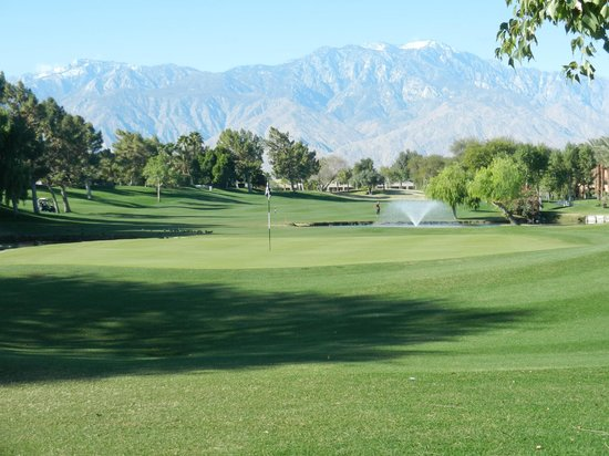 Westin Mission Hills Golf Resort & Spa: View from golf course at property
