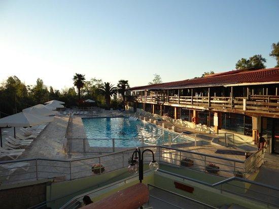 Termas El Corazon: Einer von mehreren Pools.