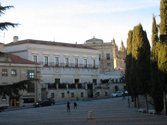NH Salamanca Palacio de Castellanos: Fachada principal