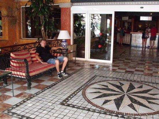 Park Club Europe Hotel: entrata arrivo 1' giorno