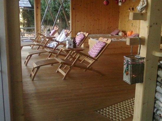 Alp Penzion: Zona relax centro benessere