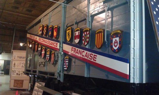 U.S. Veterans Memorial Museum : WWI train car