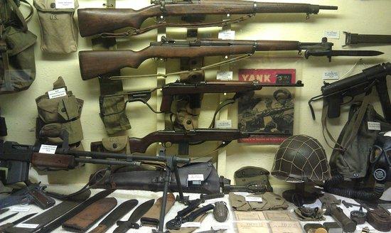 Huntsville, AL: WWII weapons