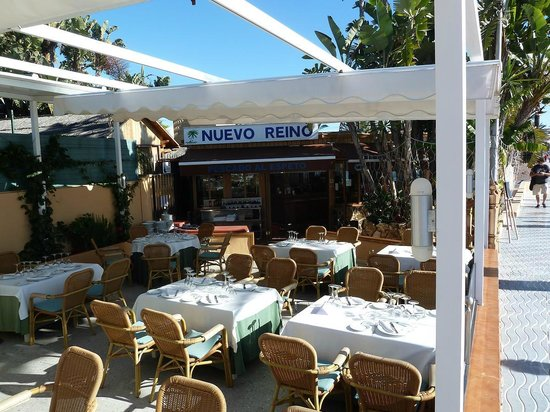 Nuevo Reino : part of the terrace