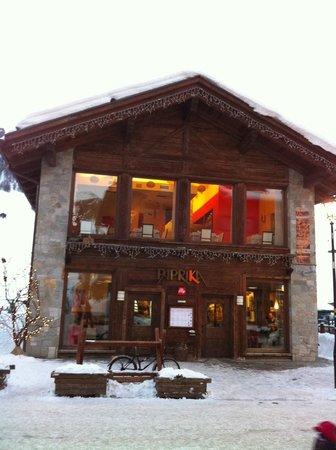 Il bar ristorante Paprika