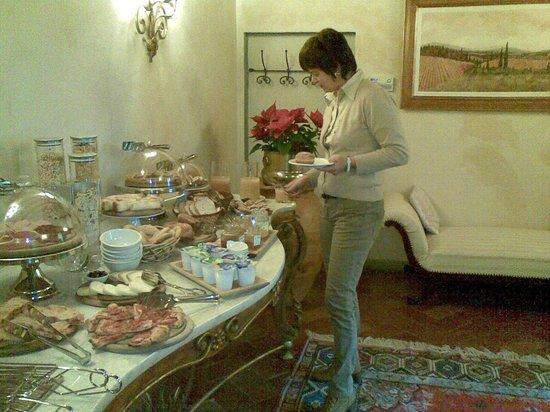 Villa Poggio Bartoli: colazione