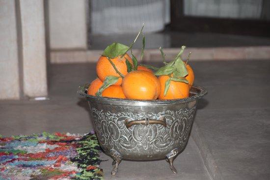 Riad Vanilla sma: laranjas