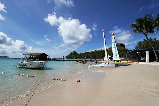 Sandals Grande St. Lucian Spa & Beach Resort: Water sports area