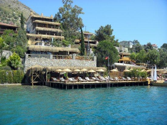 Baldan Suites: Otel Denizden Görünüm