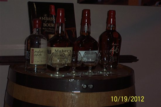Maker's Mark : What we tasted at Makers Mark