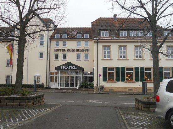 La facciata dell 39 hotel picture of hotel zum schiff for Designhotel am stadtgarten
