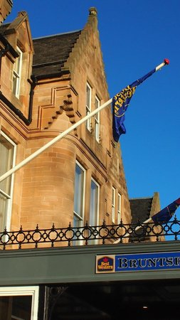 BEST WESTERN PLUS Edinburgh City Centre Bruntsfield Hotel: Hotel Front
