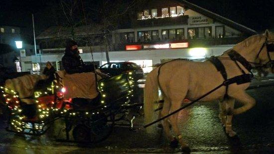 Posthotel Achenkirch: Kutschenfahrt vom Hotel aus