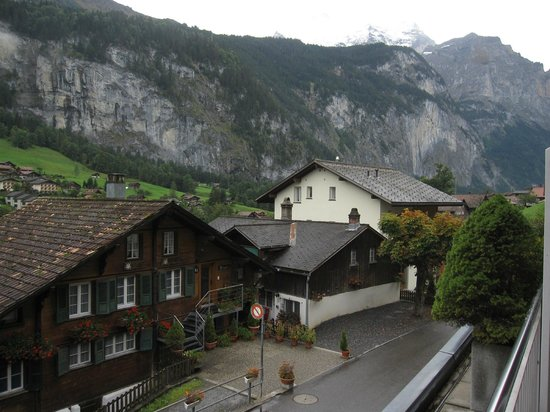 Hotel Silberhorn: view from our balcony #11