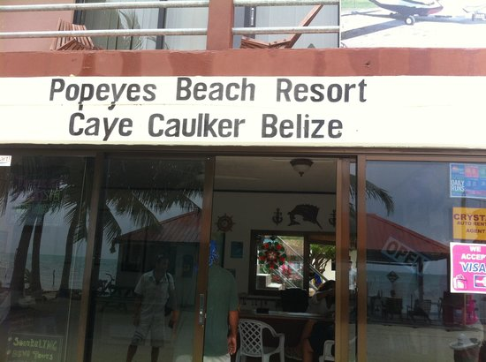 Popeyes Beach Resort: A Truly Horrible Man Owns This Place