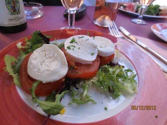 Pasta Roca: Salad mozzarella