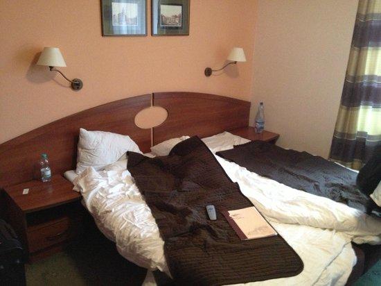 Hotel Nowa Ski: część sypialna