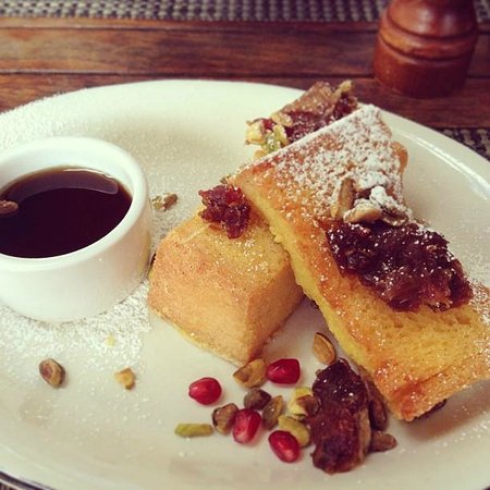 Michael's Genuine Food & Drink: mini moroccan french toast, delicious, as everything else