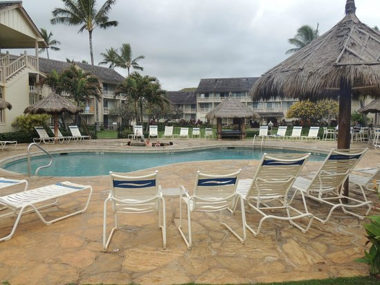 Aston Islander on the Beach: Pool area which we never used