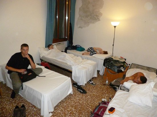 Backpackers House Venice: Our room