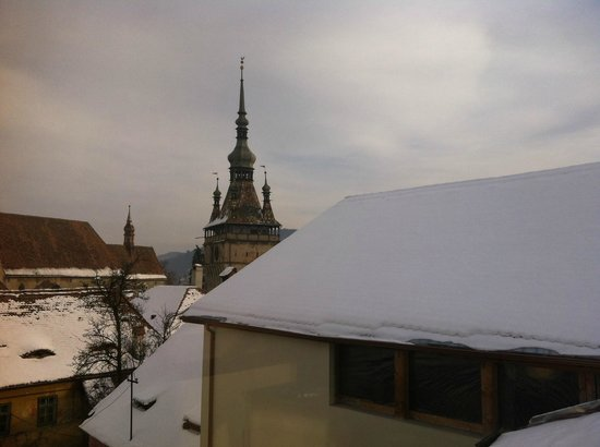 Fronius Residence: views from one of the suites on the 2nd floor