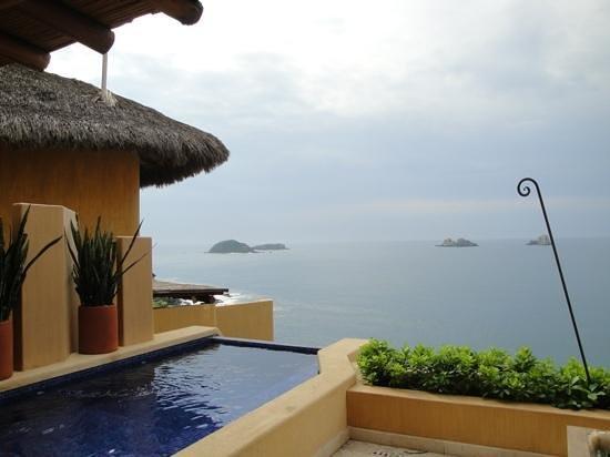 Cala de Mar Resort & Spa Ixtapa: vista desde la habitacion