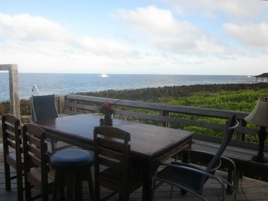 Lands End - Ocean Front Lodge: View from the dining room