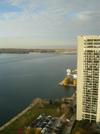 The Westin Harbour Castle, Toronto: View from the room