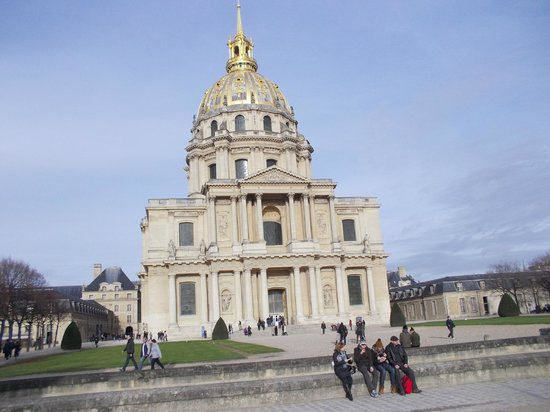 Army Museum: Entry to Napoleons tomb