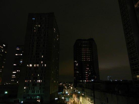 Platine Hotel: Vue depuis notre chambre
