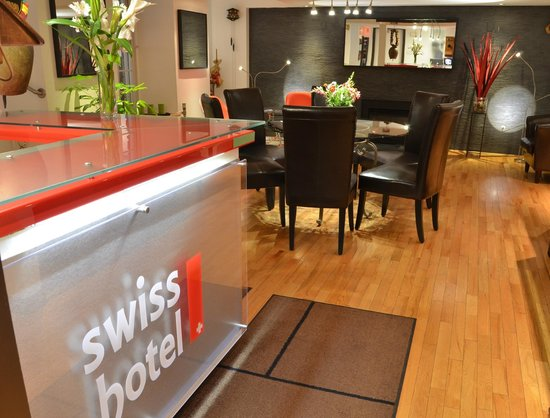 Swiss Hotel: New Reception