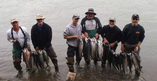 Alaska Fishing & Lodging: Limit reached