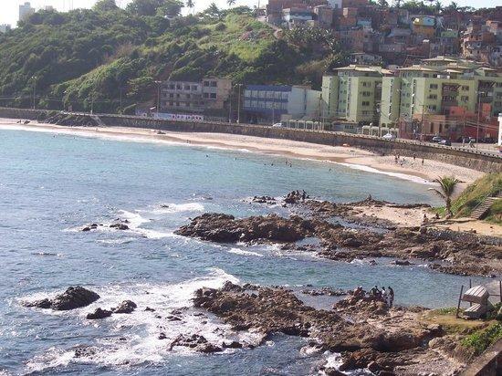 Albergue Pedra da Sereia: Vista desde el albergue de la playa