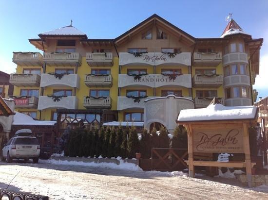 Hotel Piz Galin : esterno
