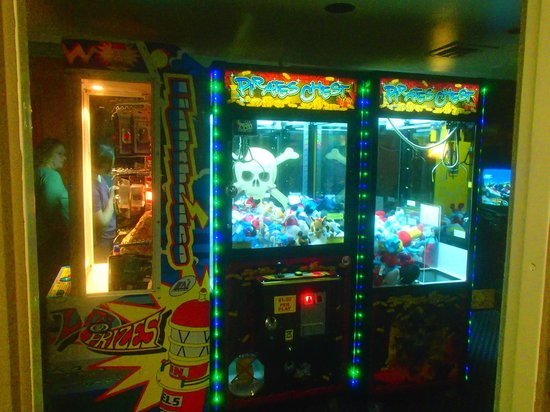 Adventureland Inn: Arcade games