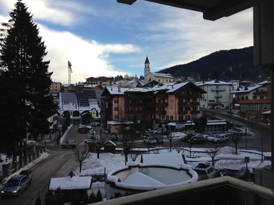 Hotel Piz Galin : Vista dalla camera 206