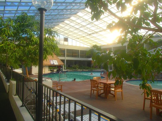 Adventureland Inn: View of pool bar in the East Courtyard