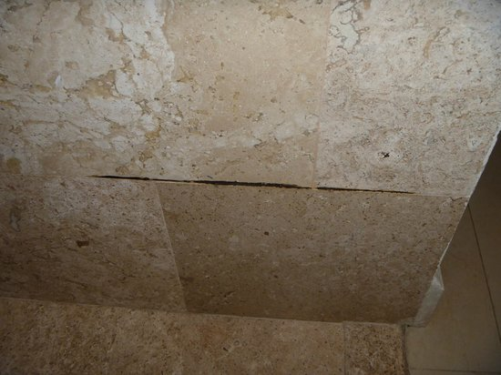 Secrets Silversands Riviera Cancun: The mold in our shower!