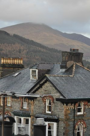Lynwood Guesthouse B&B: View to Skiddaw from the top room