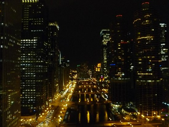 Wyndham Grand Chicago Riverfront: view of the river