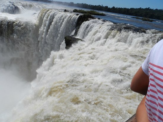 Belmond Hotel das Cataratas: Waterfalls on Argentinian side
