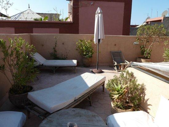 Dar Tuscia: Roof terrace