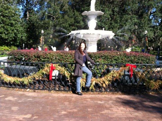 فورسيث بارك إن: Forsyth Park Fountain 