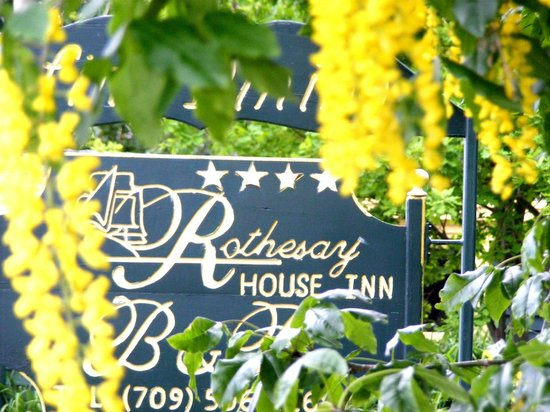 Rothesay House Heritage Inn Bed & Breakfast: Welcome