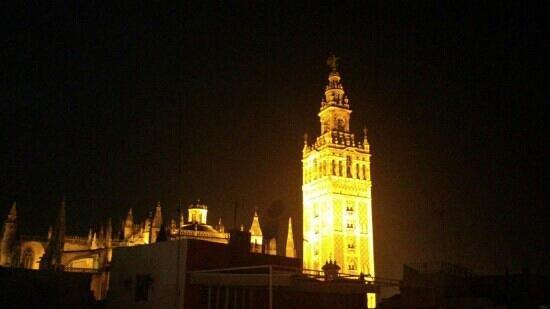 Hotel Palacio Alcazar :                   вид с крыши-кафе