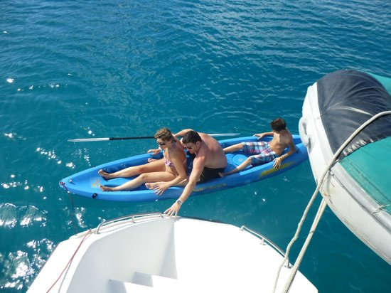 Aristocat Charters: A bit of kayaking aswell