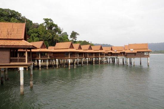 Berjaya Langkawi Resort - Malaysia: Chalets on the water